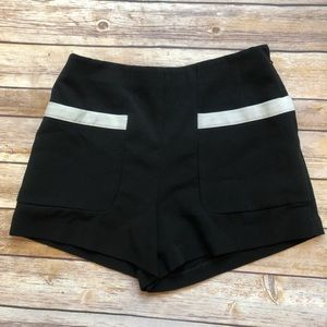 Forever 21 High-waisted Black Shorts Size Small